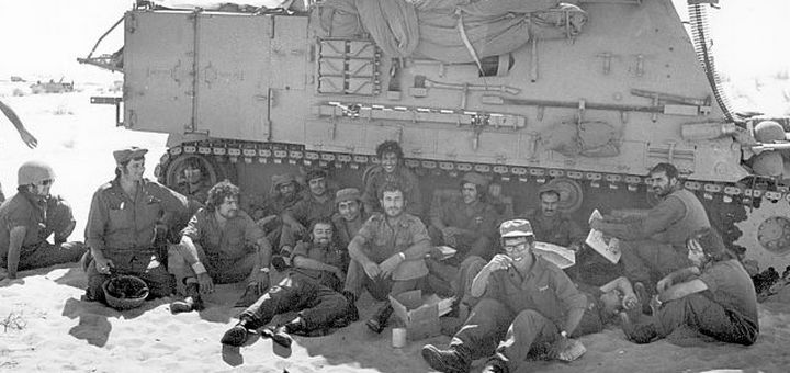 An illustrative image from the Yom Kippur War, October 1973. Photo by IDF Spokesman's Office