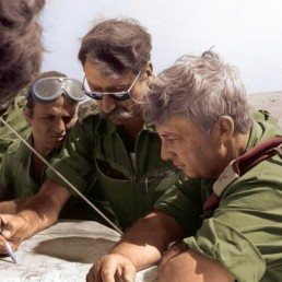 RETIRED GENERAL Amnon Reshef with the late Ariel Sharon during the Yom Kippur War.. (photo credit:RAMI BAR ILAN/IDF ARCHIVES)